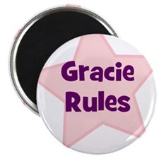 Gracie Rules Magnet
