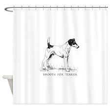 Smooth Fox Terrier Shower Curtain