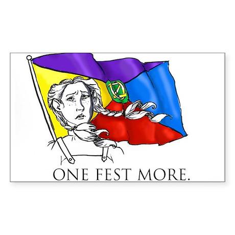 One Fest More Sticker