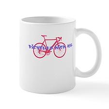 Biking kicks ass Mug