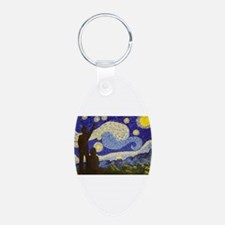 dr. Starry Night Keychains