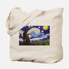 dr. Starry Night Tote Bag