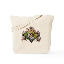 Jack Russell Terrier Portrait Tote Bag