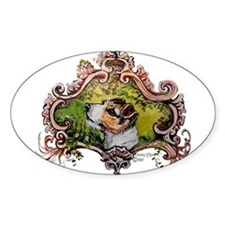 Jack Russell Terrier Portrait Decal