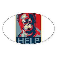 Help Orangutans Decal