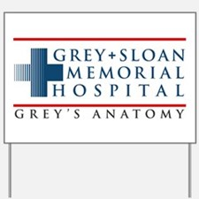 Grey Sloan Memorial Hospital Yard Sign