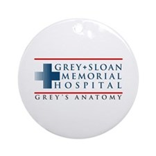 Grey Sloan Memorial Hospital Round Ornament