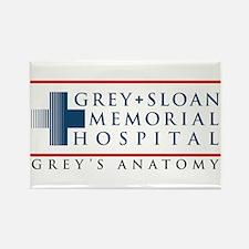 Grey Sloan Memorial Hospital Rectangle Magnet