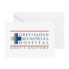 Grey Sloan Memorial Hospital Greeting Card