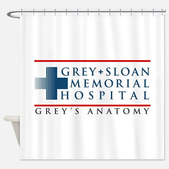 Grey Sloan Memorial Hospital Shower Curtain