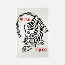 Wild Thing Tiger Rectangle Magnet (100 pack)