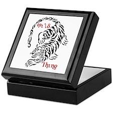 Wild Thing Tiger Keepsake Box
