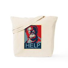 Help Orangutans Tote Bag