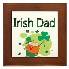 Irish Dad Framed Tile