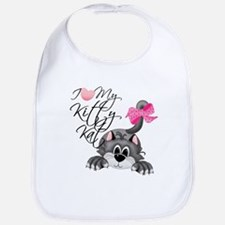 I Love My Kitty Kat Bib