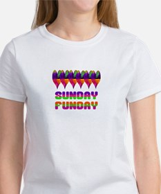 Jamaican Heart Sunday Funday T-Shirt