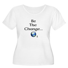 Be The Change WORLD Plus Size T-Shirt