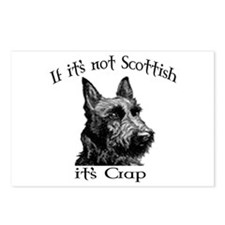NOT SCOTTISH IT'S CRAP #2 Postcards (Package of 8)