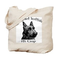 NOT SCOTTISH IT'S CRAP #2 Tote Bag