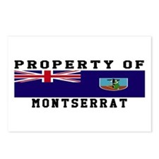 Property Of Montserrat Postcards (Package of 8)