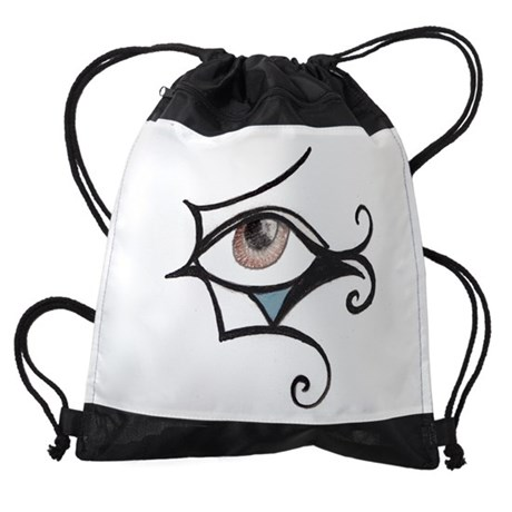 egypteyepencil.JPG Drawstring Bag