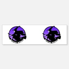Witchy Woman (Purple) Bumper Bumper Bumper Sticker