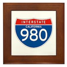 Interstate 980 - CA Framed Tile