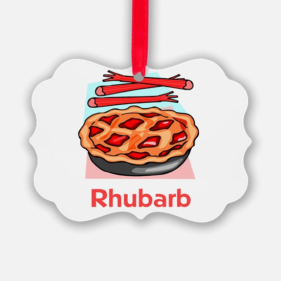 rhubarb.png Ornament
