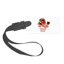 chocolate covered cherry.png Luggage Tag