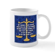 """Get Yourself An Attorney"" Mug"