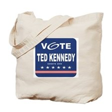 Vote Ted Kennedy Tote Bag