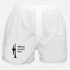 Custom Trumpet Boxer Shorts