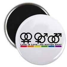 """Love No Matter What 2.25"""" Magnet (100 pack)"""