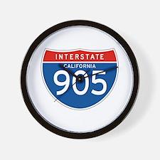 Interstate 905 - CA Wall Clock