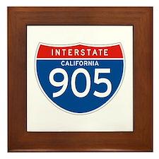 Interstate 905 - CA Framed Tile