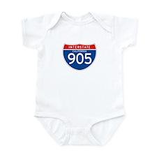 Interstate 905 - CA Infant Bodysuit