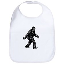 GONE SQUATCHIN BIGFOOT TSHIRT Bib