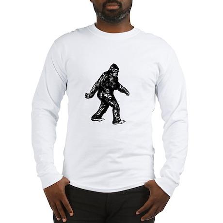GONE SQUATCHIN BIGFOOT TSHIRT Long Sleeve T-Shirt