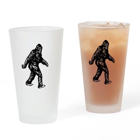 GONE SQUATCHIN BIGFOOT TSHIRT Drinking Glass