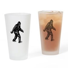 GONE SQUATCHIN BIGFOOT TSHIRT Drinking Glass