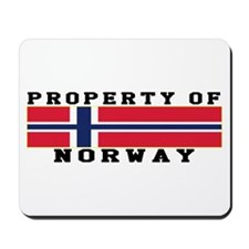Property Of Norway Mousepad