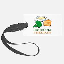 broccoli cheddar.png Luggage Tag
