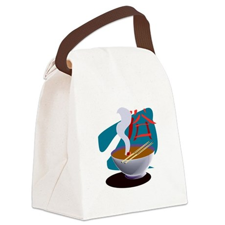 miso soup.png Canvas Lunch Bag