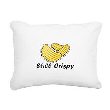Still Crispy.jpg Rectangular Canvas Pillow