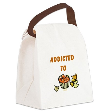 chips and salsa.png Canvas Lunch Bag