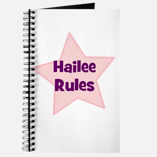 Hailee Rules Journal