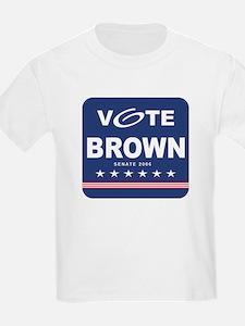 Vote Sherrod Brown Kids T-Shirt