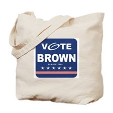 Vote Sherrod Brown Tote Bag