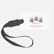 send in the bunnies.png Luggage Tag