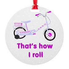 girls bike.png Ornament